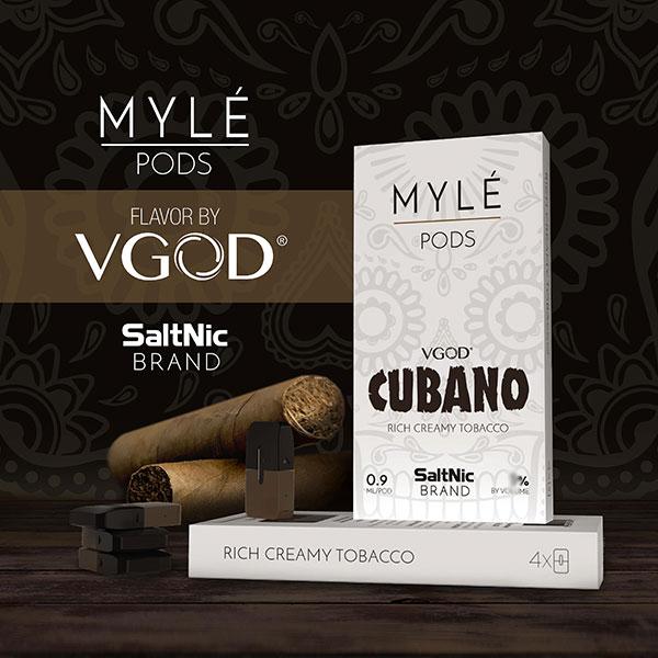 [마일 전용] VGOD 쿠바노(VGOD CUBANO PODS) FOR MYLE