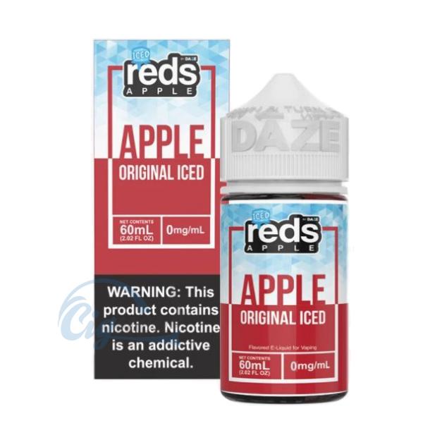 [60ML] 아이스 오리지널 레드애플(ICED ORIGINAL REDS APPLE / 70VG) BY 7 DAZE